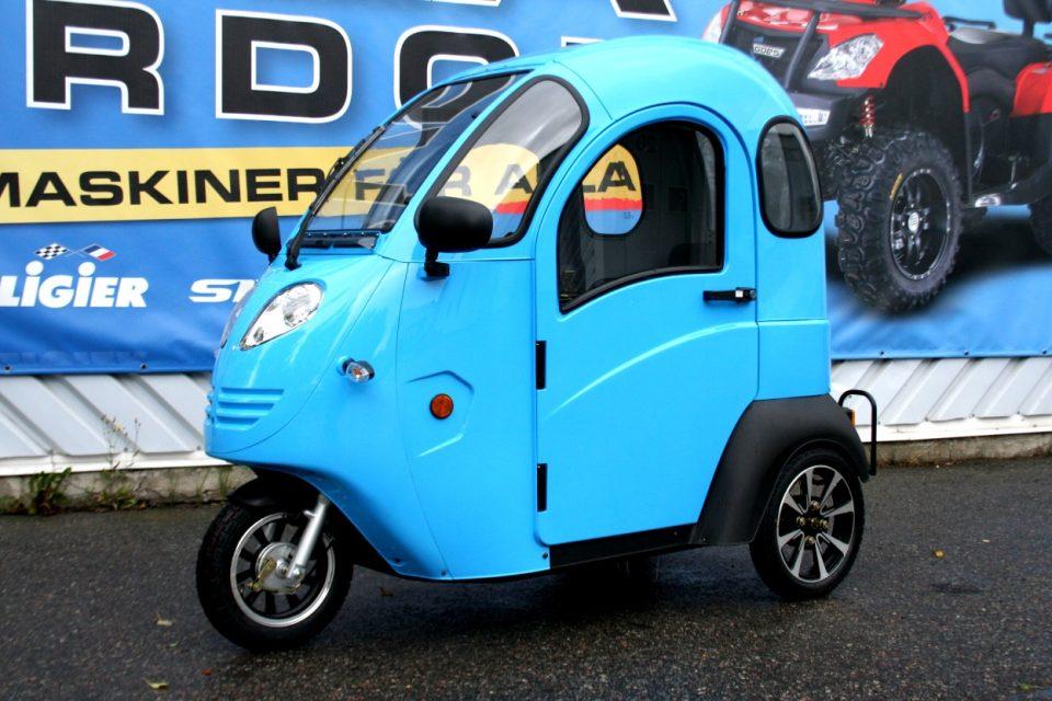 Elektrisk Mopedbil Titan Zero R1