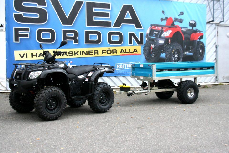 Elhydraulisk Tippvagn ATV