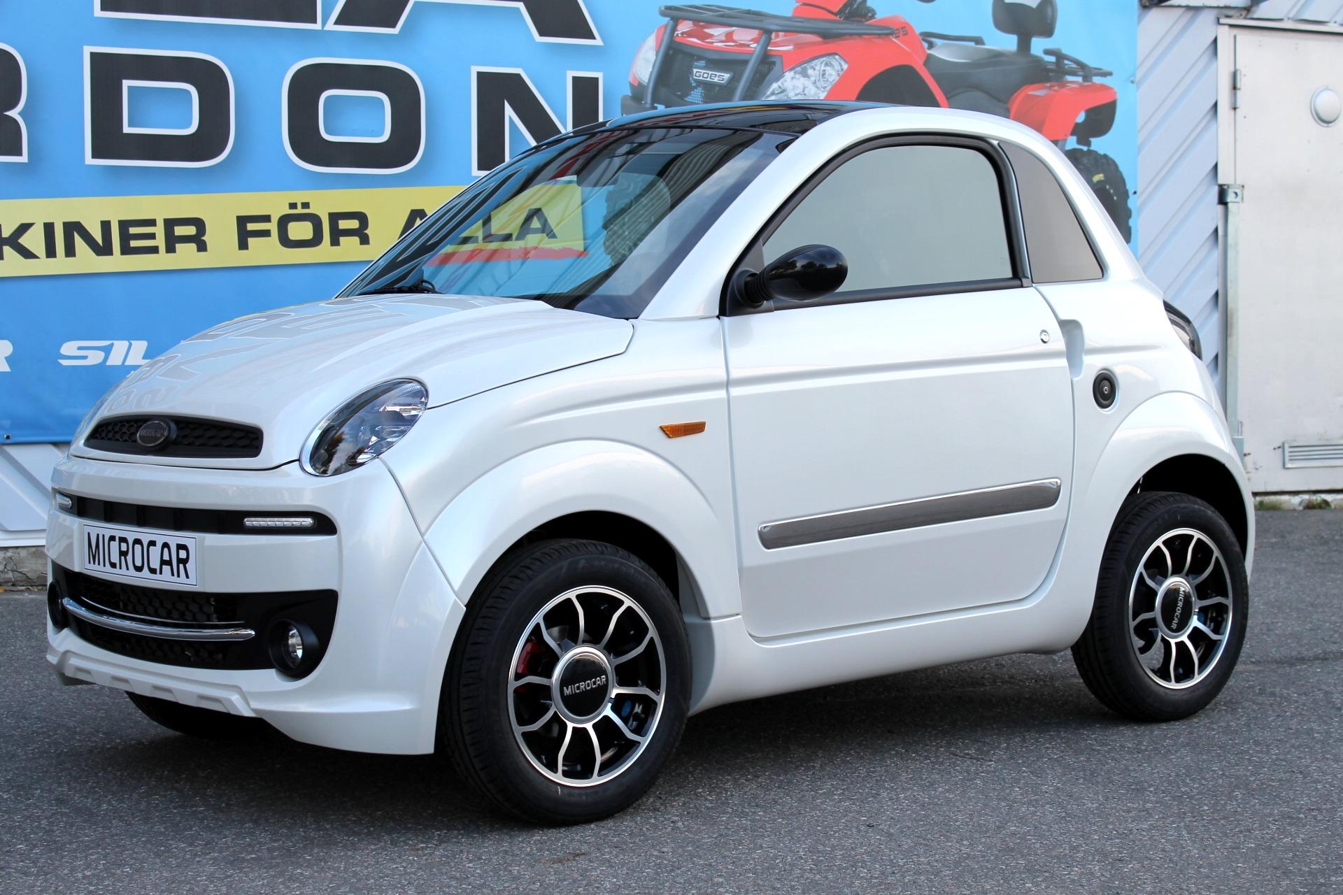 Microcar Mopedbil Dué Premium LE