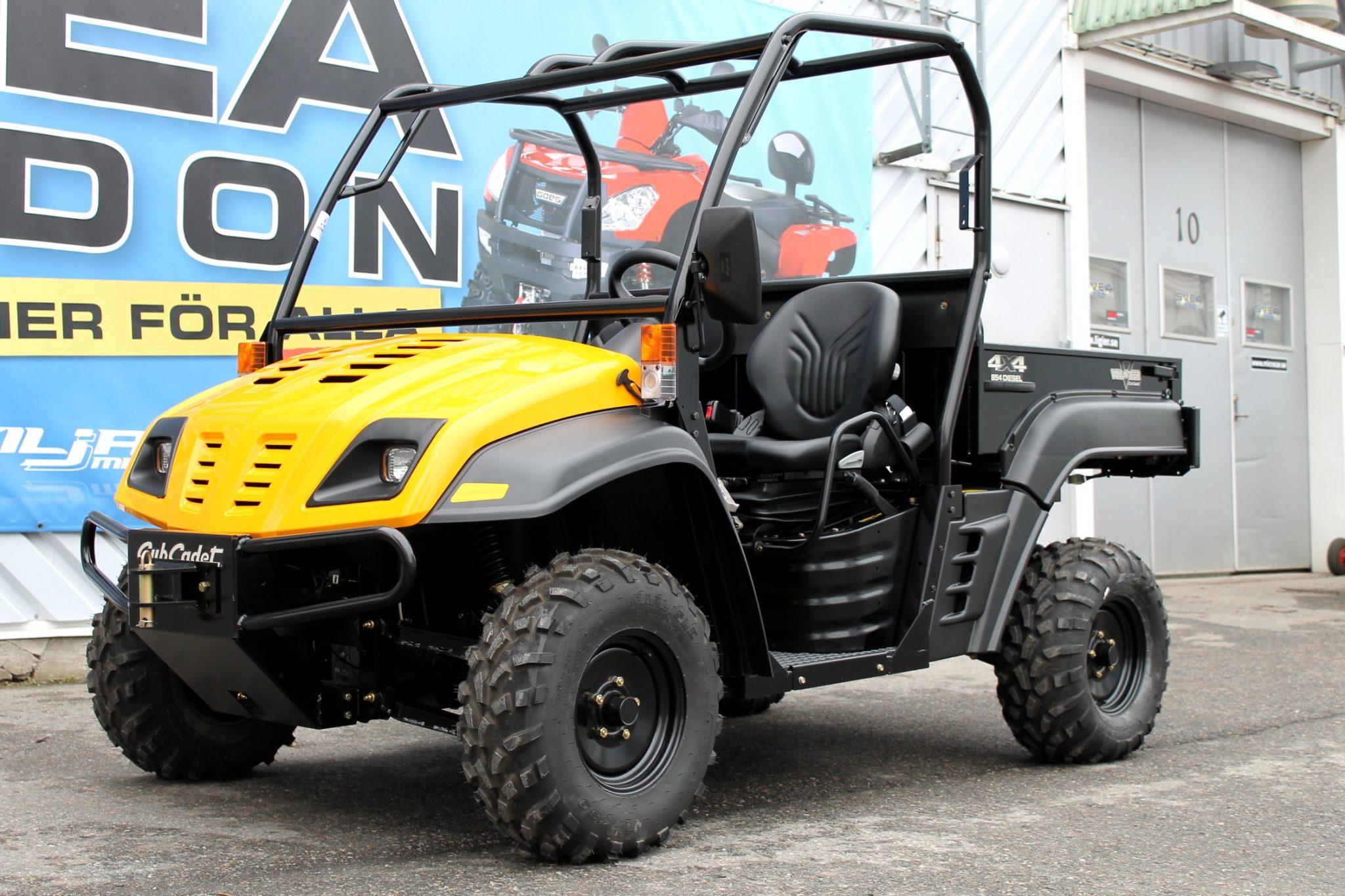 Cub Cadet UTV 4X4 | Diesel | Traktor Reg