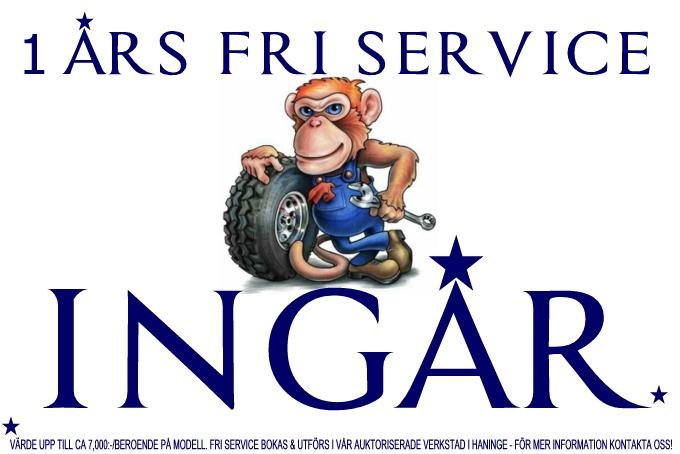 1 Års FRI Service LIGIER | MICROCAR Mopedbilar