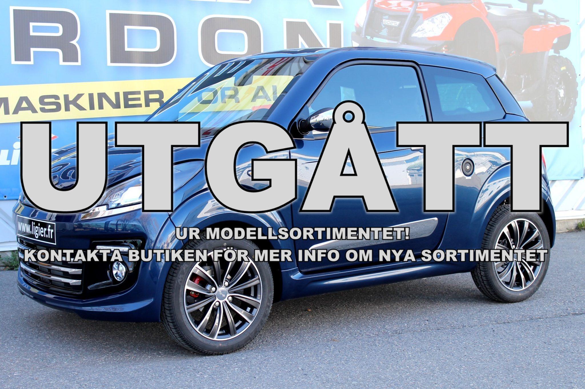 Ligier Mopedbil JS50L Elegance+