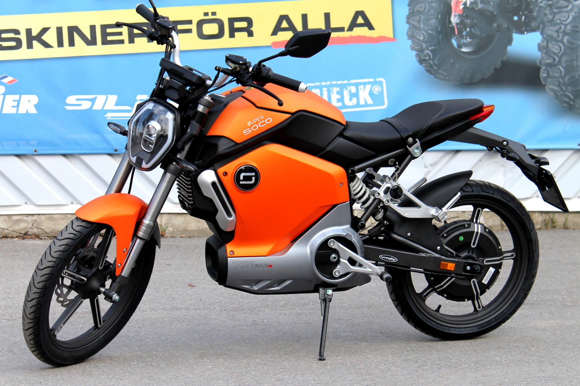 Elmoped Super Soco TS1200R