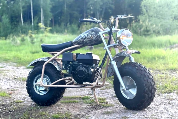 PITBIKE PITKING 200 | GRYMT ROLIG PITBIKE