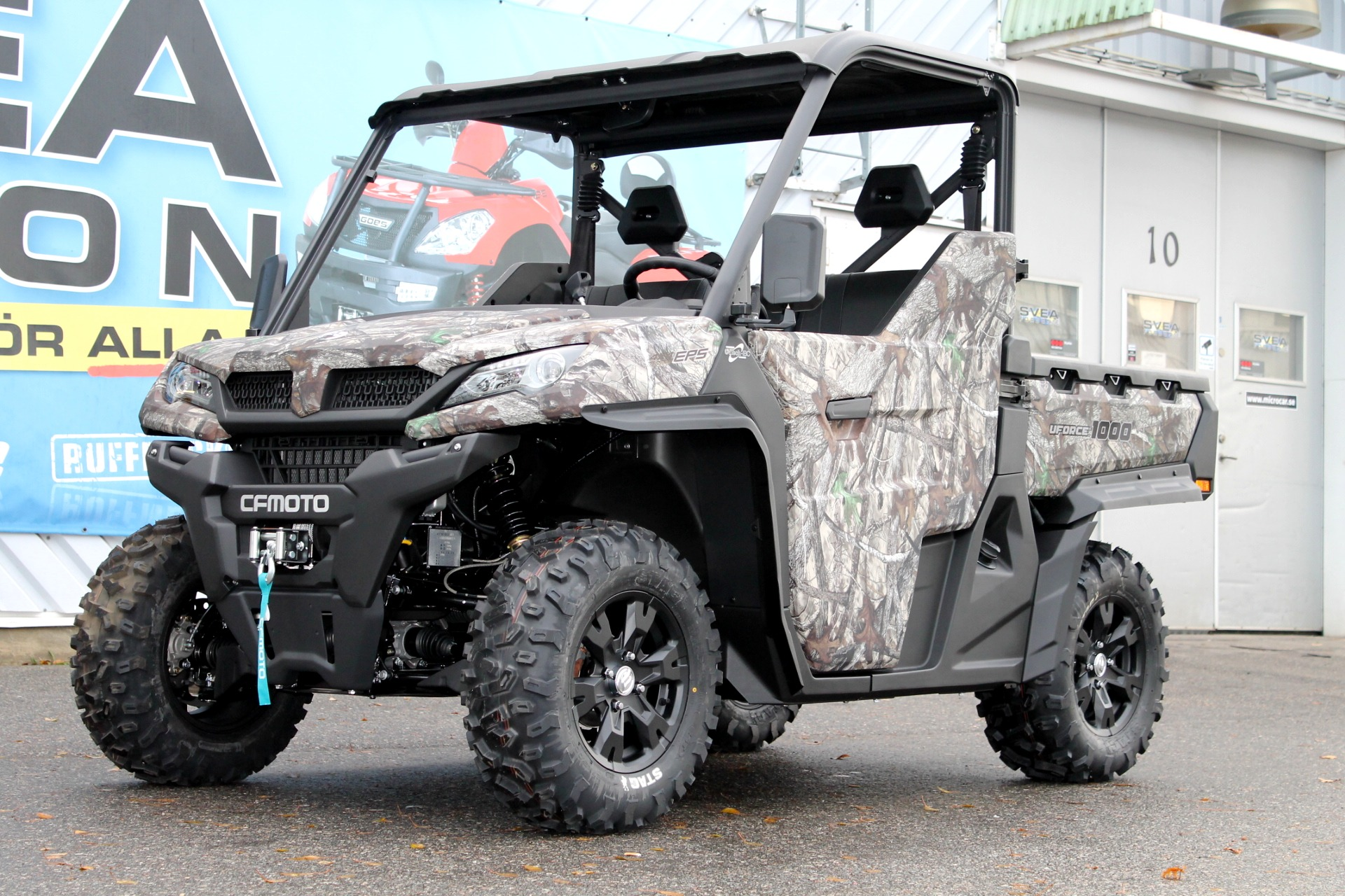 CF Moto U-Force 1000 EFi EPS 4×4