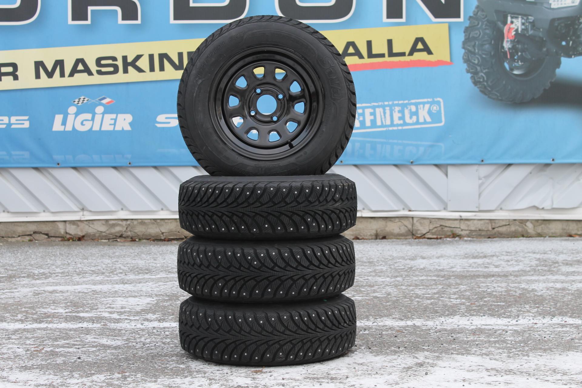 14 Tums Dubbade Vinterdäck På Fälg ATV/UTV