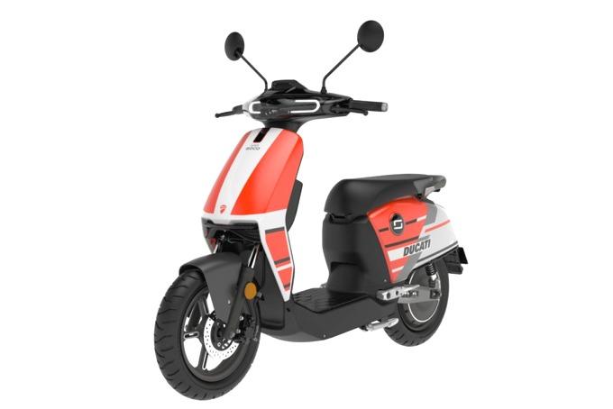 El Moped Super Soco CUx Ducati EDT