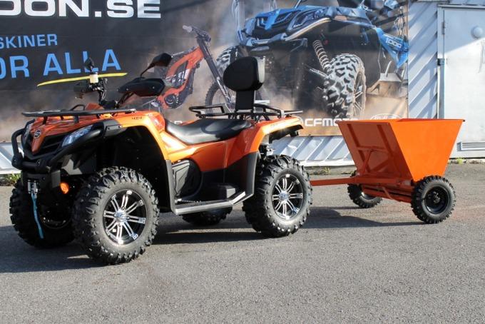 Sandspridare ATV/UTV