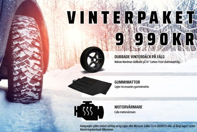 Vinterpaket Mopedbil