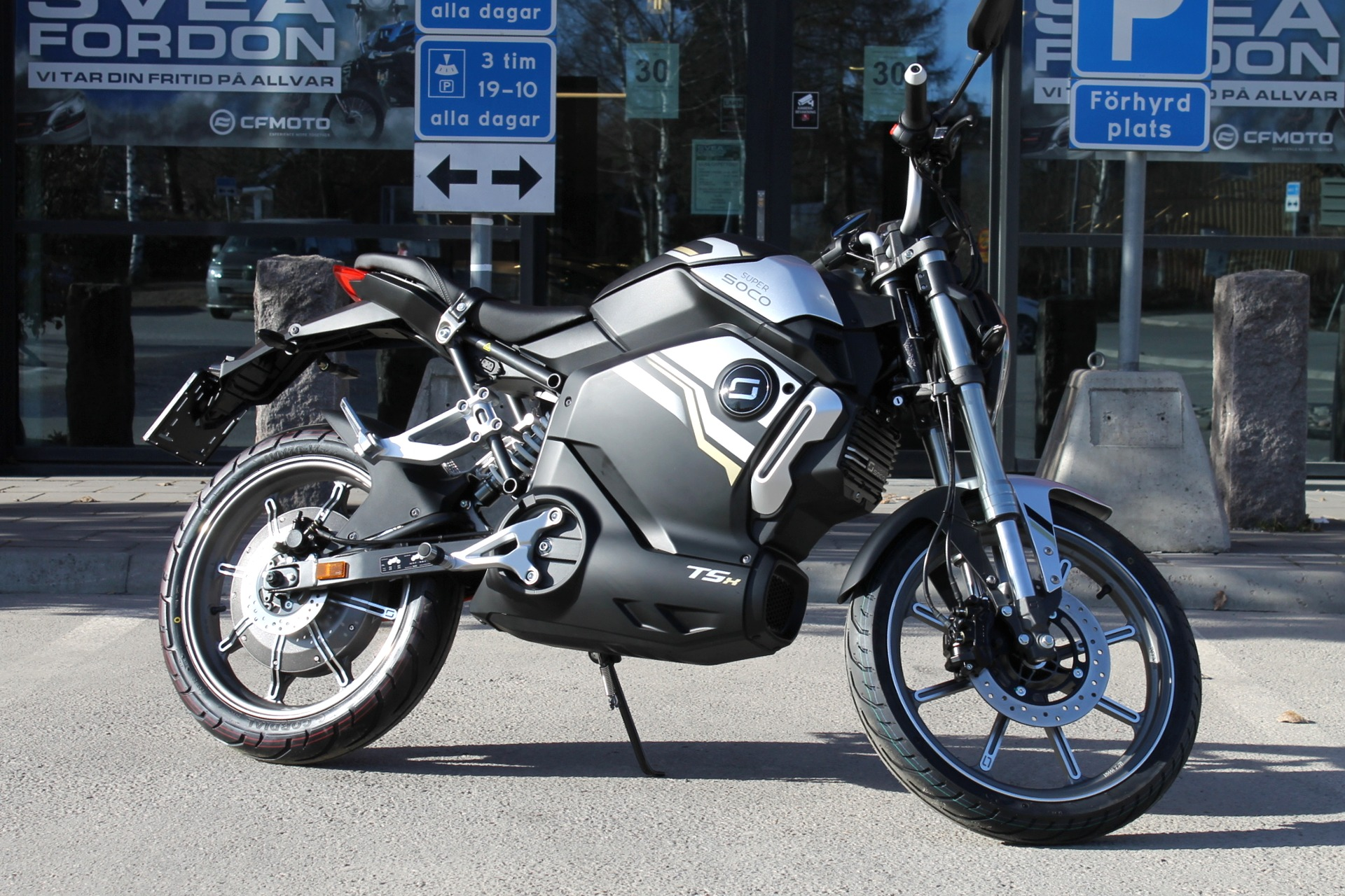Elmoped Super Soco TSX