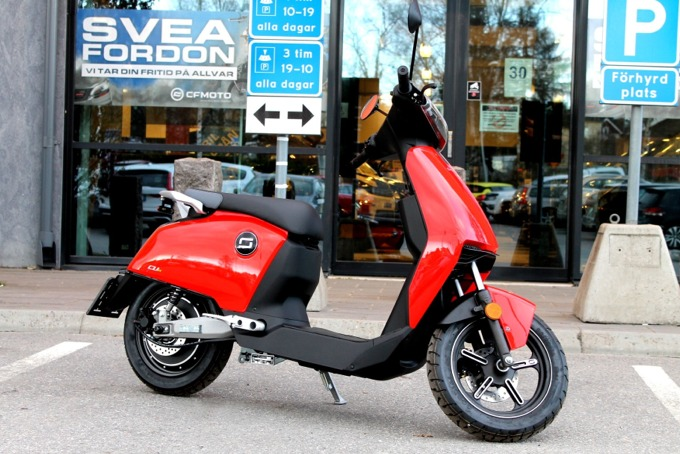 Elmoped Super Soco CUX