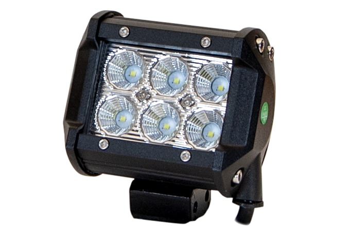 LED Ljus 6x3W Flood