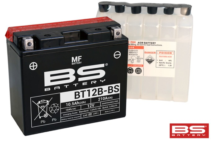 Batteri BT12B BS MF