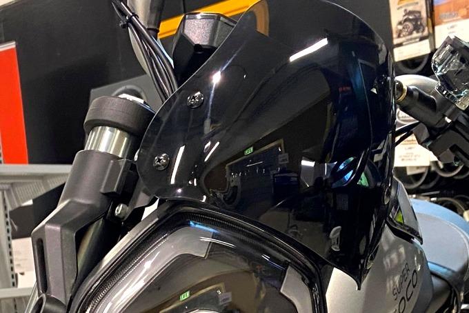 Super Soco TSX Vindruta Sport