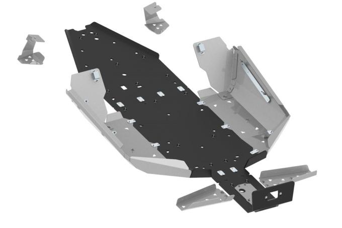 CFMoto Skid Plate Z-Force 1000 Sport Alu/Plast