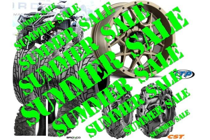 Summer Sale Tires & Rims