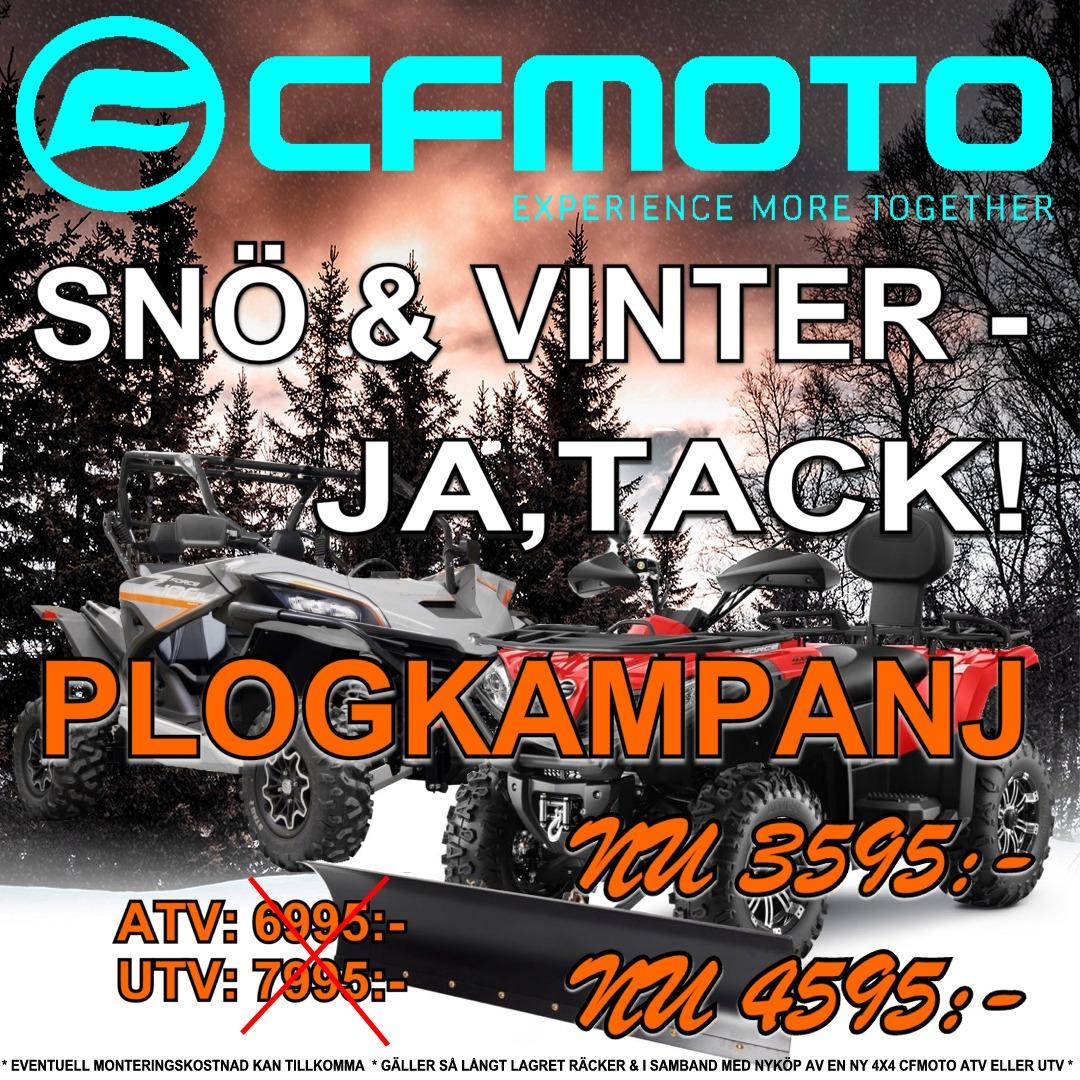 PLOGKAMPANJ CFMOTO ATV