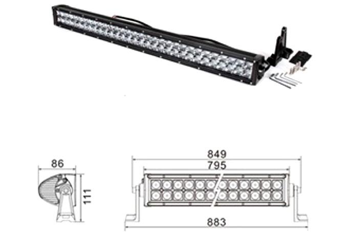 LED Ramp 180W CREE