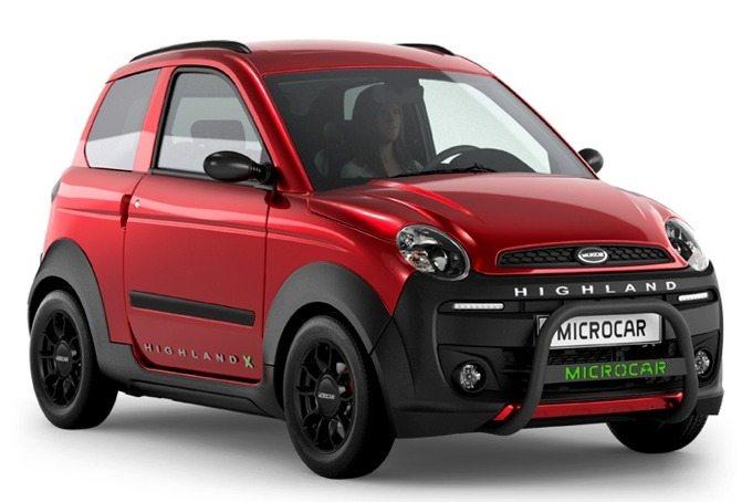 Microcar Mopedbil ACTive X