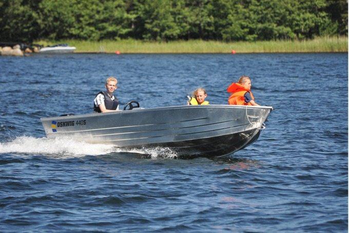 Oskwig 440 Aluminiumbåt