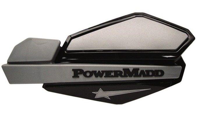 Handtagsskydd Komplett PowerMadd Svart/Silver