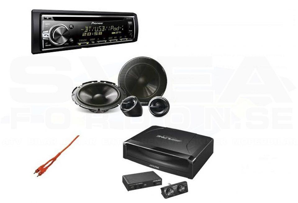 Pioneer/Alpine Ljudpaket