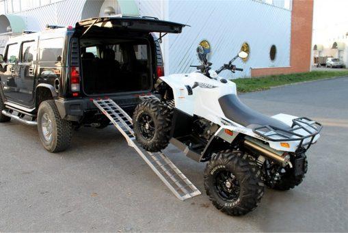 LAST RAMP TILL ATV/REDSKAP  2014