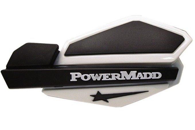Handtagsskydd Komplett PowerMadd Svart/Vit